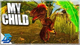 Playing as a direwolf ep 2 ark play as dino mod forming starting my raptor life raptor baby ark survival evolved malvernweather Image collections