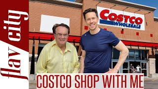 Shopping At Costco With My Dad - Healthy Costco Grocery Haul
