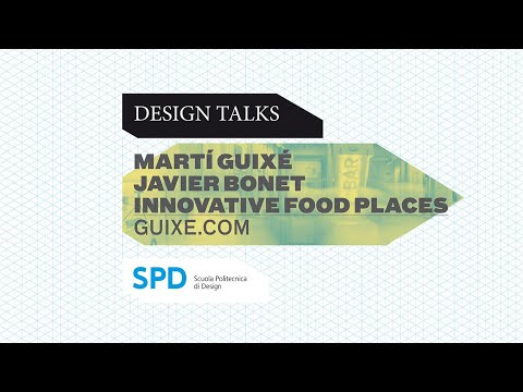 SPDTalk - Martí Guixé and Javier Bonet