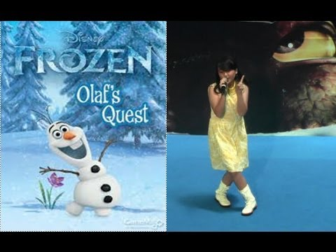 Frozen-Let It Go,Idina Menzel,Kid's Idol Competition(12years Gaby) Indonesia