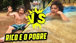 RICO VS POBRE NO SÍTIO (PISCINA)
