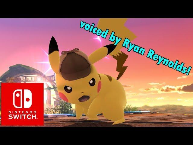 Super Smash Bros. Ultimate Detective Pikachu Reveal