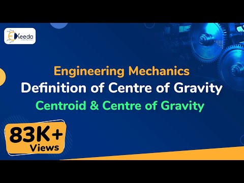 Centroid & Center of Gravity - Engineering Mechanics -First Year Engg