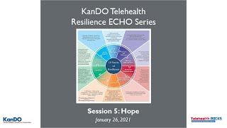 KanDO Telehealth Resilience ECHO Telementoring Series