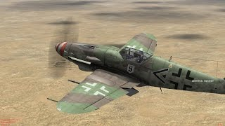IL2 Sturmovik 1946 UP 2.01 Bf-109 K14 vs P47,Tempest