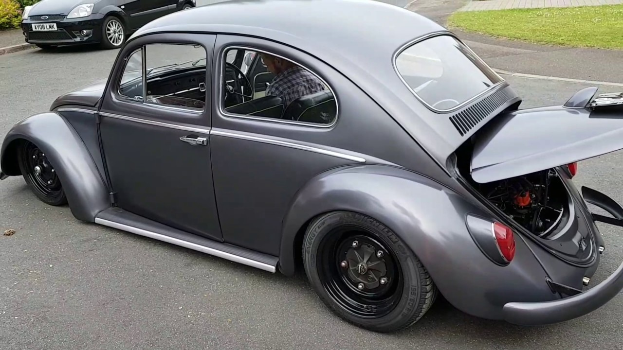 1964 vw beetle 1300sp small window full air suspension by matt wilton cox [ 1280 x 720 Pixel ]