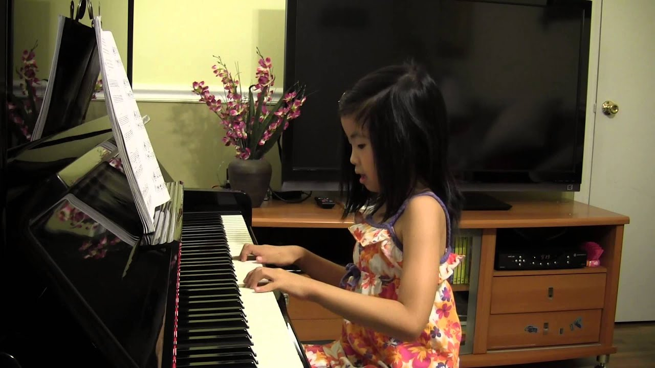Sarasponda piano by Lidia (6 years old) - Alfred's Basic Piano Lesson Book  Level 2, p46