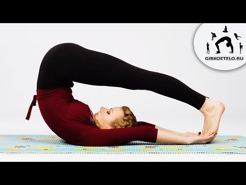 Упражнения йоги для шейного отдела