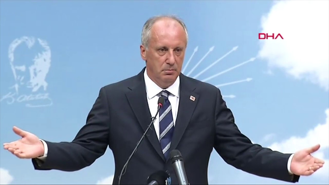 """Muharrem İnce: """"Sayın Erdoğan, artık hepimizin cumhurbaşkanı olun"""""""