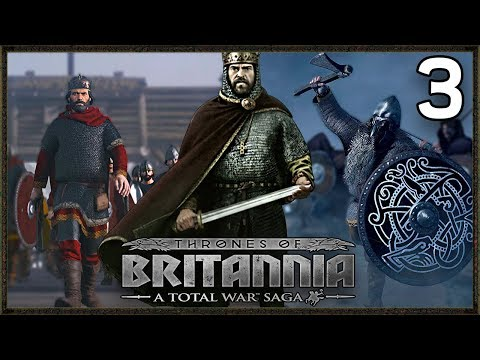 New Anglo Saxon Kingdom! - Total War Saga: Thrones Of Britannia Gameplay Wessex Campaign #3