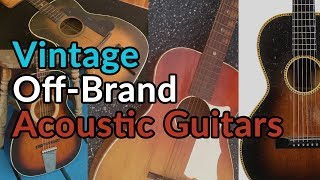 ESPANA GUITARS and Off-Brand Vintage Acoustics - What are they worth? - Guitar Discoveries #41