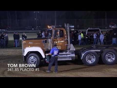 Mercer Raceway Park Pa Posse & Street Truck Pulls  Hot Semis 9-16-17