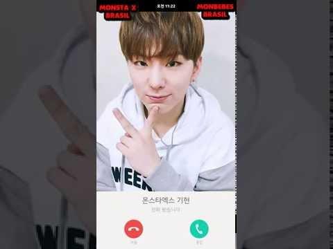 160524 MY KISS ♥ KIHYUN Kakao Talk (Video Call) [Legendado PT-BR]