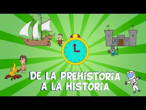 De la prehistoria a la historia, las edades del hombre.