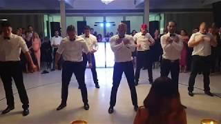 Best groomsman dance ever  De Petra Wedding Surprise Dance 2019