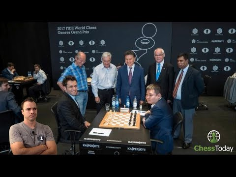 Chess Today: July 7th 2017 | Agon FIDE Grand Prix Controversy