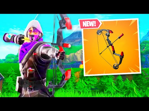 The New EXPLOSIVE BOW in Fortnite..