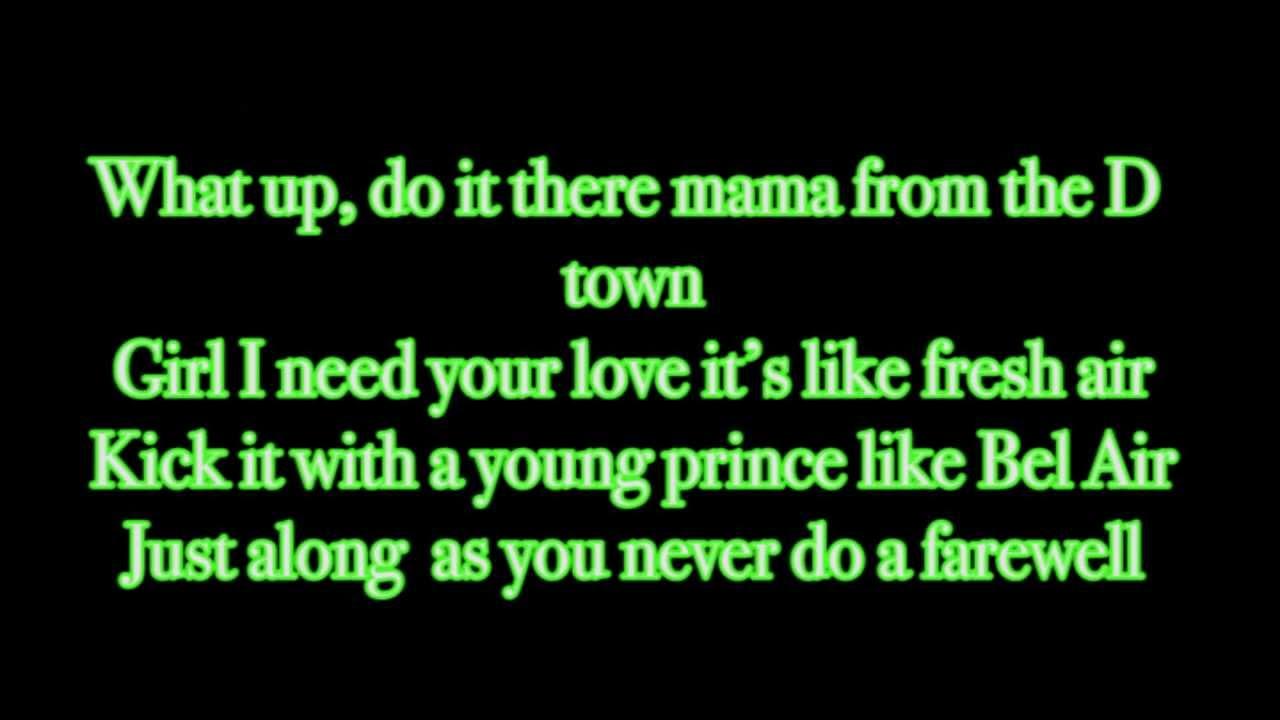 ace hood ft trey songzi need your love lyrics on screen
