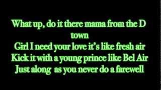 Ace Hood Ft Trey Songz-I Need Your Love Lyrics On Screen