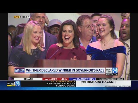 Gov.-elect Gretchen Whitmer\'s acceptance speech
