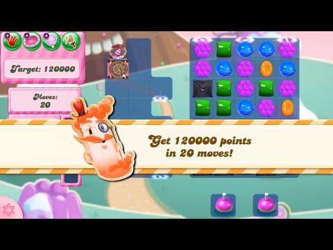 Candy Crush Saga Level 2866 NO BOOSTERS