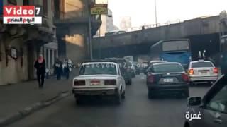 النشرة المرورية.. تباطؤ حركة السيارات بمعظم ميادين القاهرة والجيزة