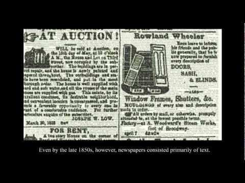 American Newspapers, 1800-1860: Introduction