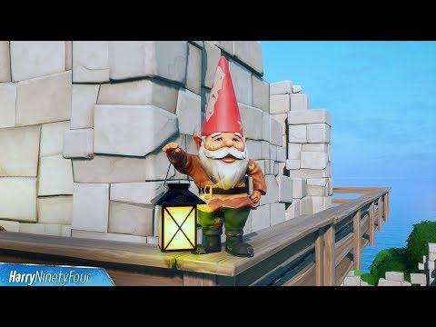 Destroy Gnomes At Camp Cod Or Fort Crumpet All Locations - Fortnite