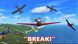 FSX Multiplayer CHAOS: P-51 Formation Flight over Hawaii (Part 2)