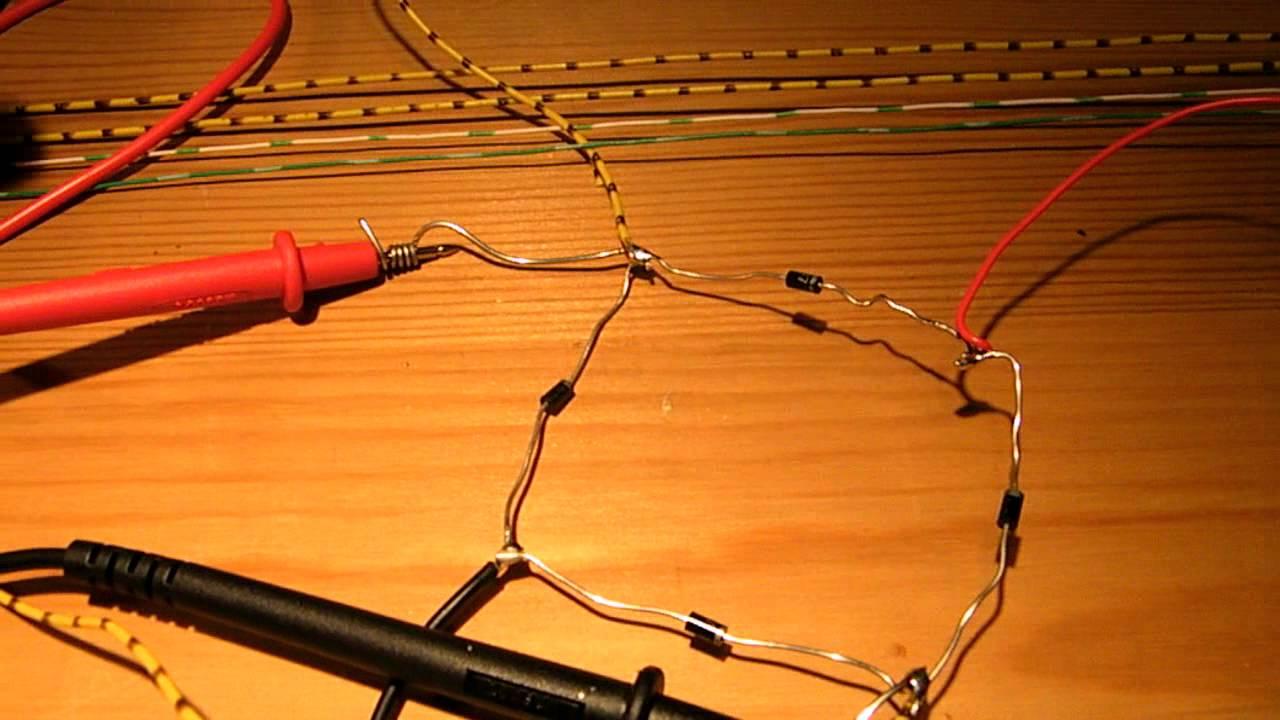 diode wiring diagram 12v dc [ 1280 x 720 Pixel ]
