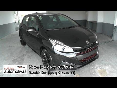 VÍDEO: Novo Peugeot 208 2017 em detalhes
