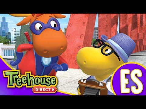 Los Backyardigans Dibujos Animados: 47-49 Episodios Para Niños - Compilación De 70 Mins