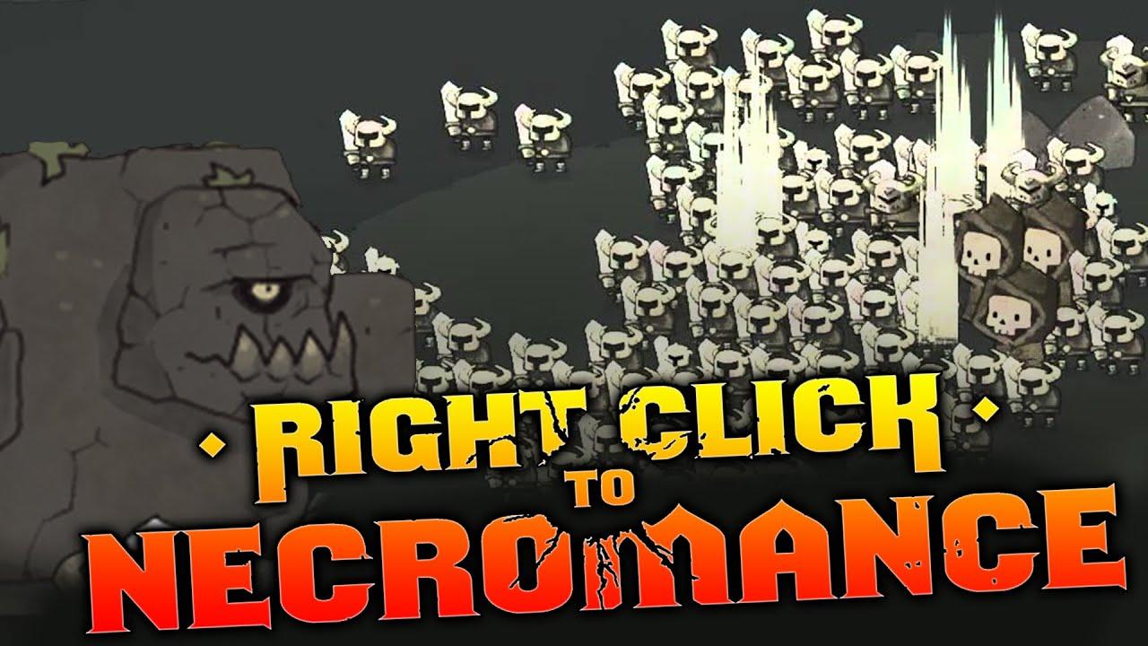 right click to necromance no download