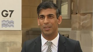 video: Rishi Sunak hails 'historic' breakthrough as G7 ministers agree global tech tax deal