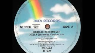 Harold Faltermeyer Axel F Extended Version 1984