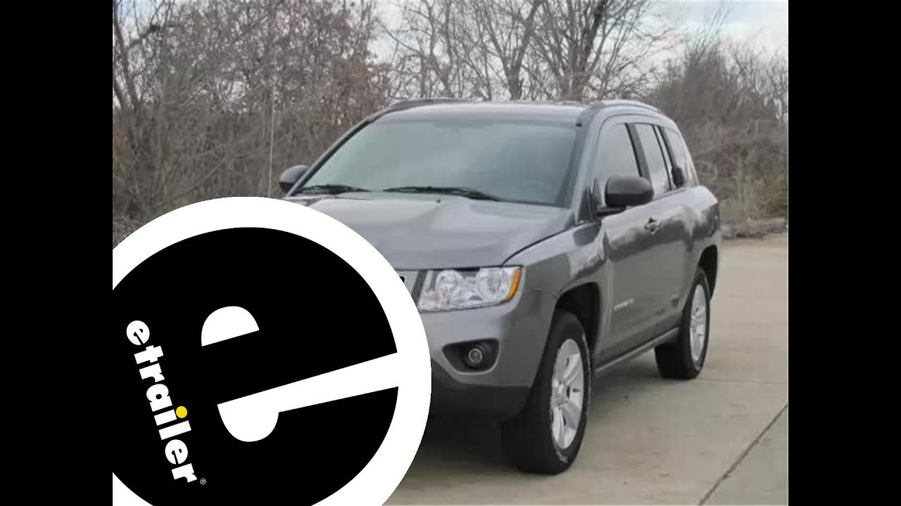 Installation of a Trailer Hitch on a 2012 Jeep Compass etrailer – Jeep Compass Trailer Wiring Harness