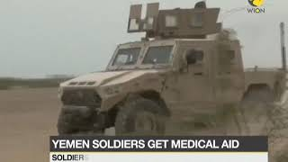 Yemen soldiers, civilians get Indian medical aid