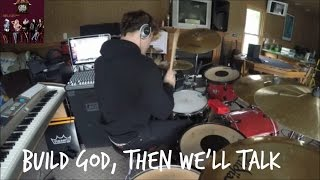 Repeat youtube video Build God, Then We'll Talk [Panic! At the Disco] HD Drum Cover