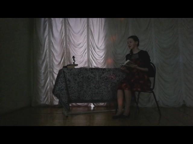 Изображение предпросмотра прочтения – КристинаБалтасева читает произведение «День вечереет, ночь близка…» Ф.И.Тютчева