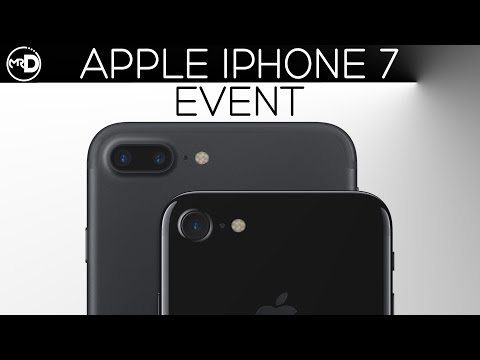 Full iPhone 7 Press Release (Apple Special Event 2016)