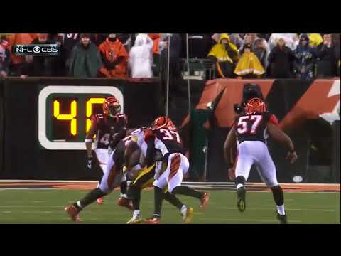 The 10 most horrifying moments in the Steelers-Bengals game