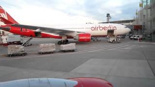 Air Berlin Boeing 737-700 HAM-DUS Taxi In Part 4/4