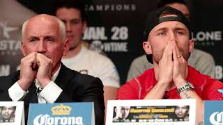 Carl Frampton sworn Statement in court against Barry McGuigan
