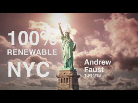 Urban Permaculture Designs - 100% Renewable Energy - Andrew Faust Talk