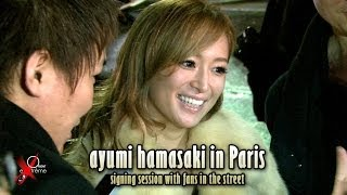 Cover images ayumi hamasaki in Paris, 浜崎 あゆみ signing session at Shangri La, January 26th 2014