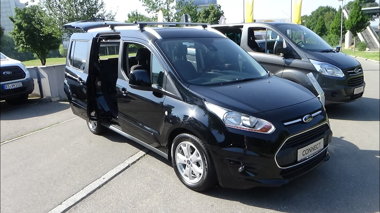 2015 ford tourneo connect titanium exterior and interior automobil t bingen 2015 youtube
