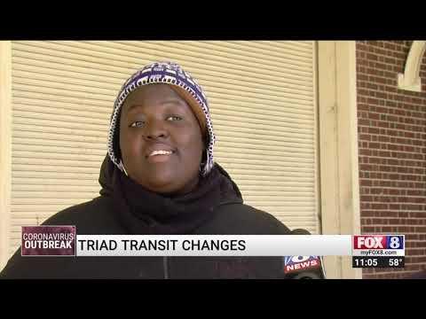 Transit Changes In The Piedmont Triad Amid Coronavirus Pandemic