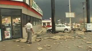 Extreme Wind Video - Derecho Downburst in Hudson Oaks, Texas thumbnail