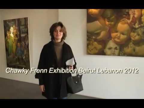 Chawky Frenn Beirut Lebanon Painting Exhibition 2012 Cynthia Nouhra Art Gallery