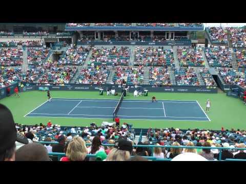 Caroline Wozniacki v. Serena Williams semifinal Western & Southern Open 2014